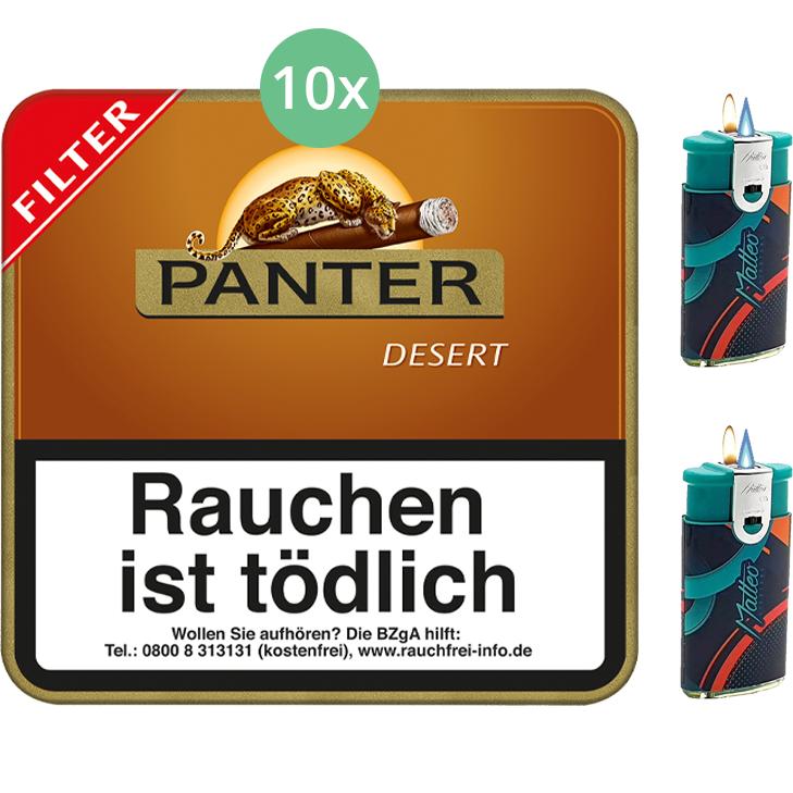 Panter Desert Filter 10 x 20 Stück