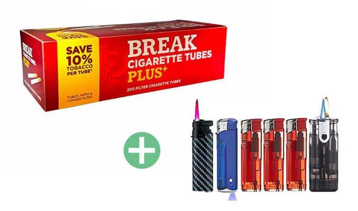 Break Xtra Plus Filterhülsen 25 x 200