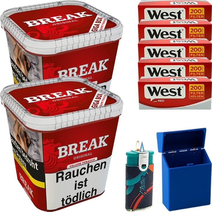 Break Original 2 x 230g mit 1000 Hülsen
