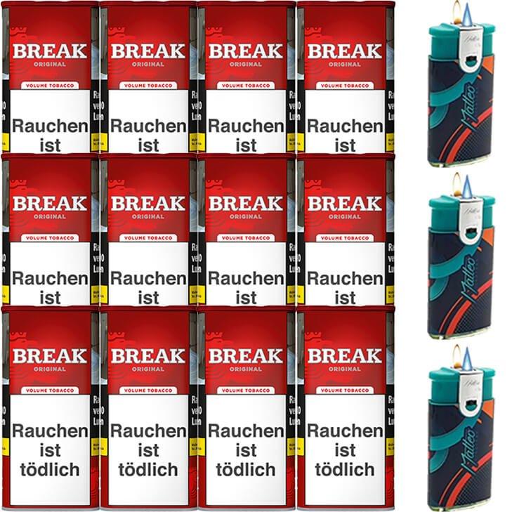 Break Original 12 x 115g mit Feuerzeugen