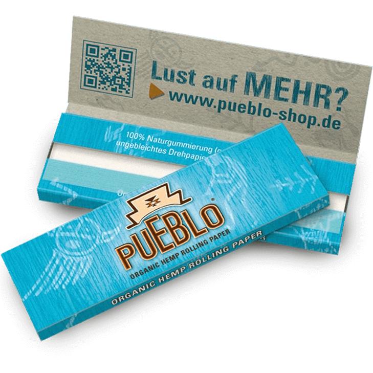 Pueblo Organic Hemp Rolling Paper 50 Blatt