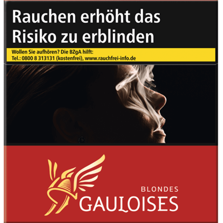 Gauloises Blondes Rot 15 €