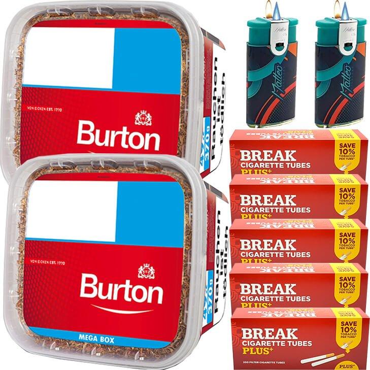 Burton 2 x 350g mit 1000 Plus Hülsen