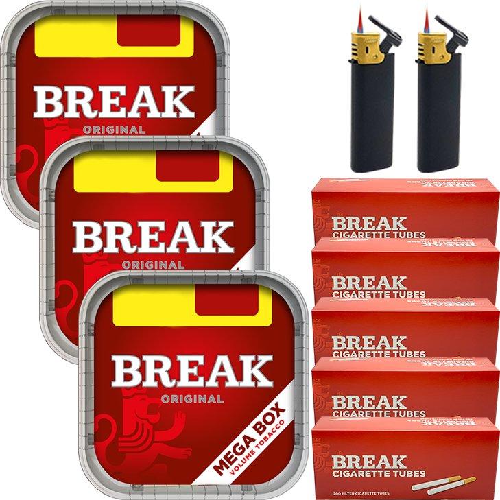 Break Original 3 x 170g mit 1000 Hülsen