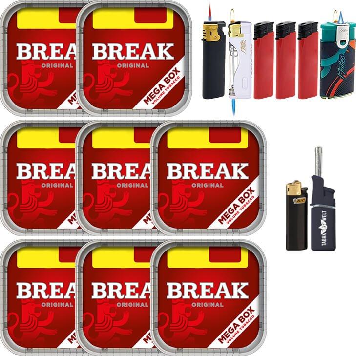 Break Original 8 x 170g mit Feuerzeuge