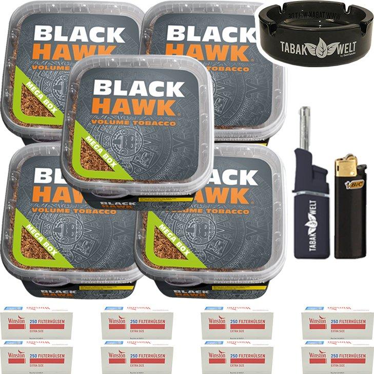 Black Hawk 5 x 230g mit 2000 Special Size Hülsen