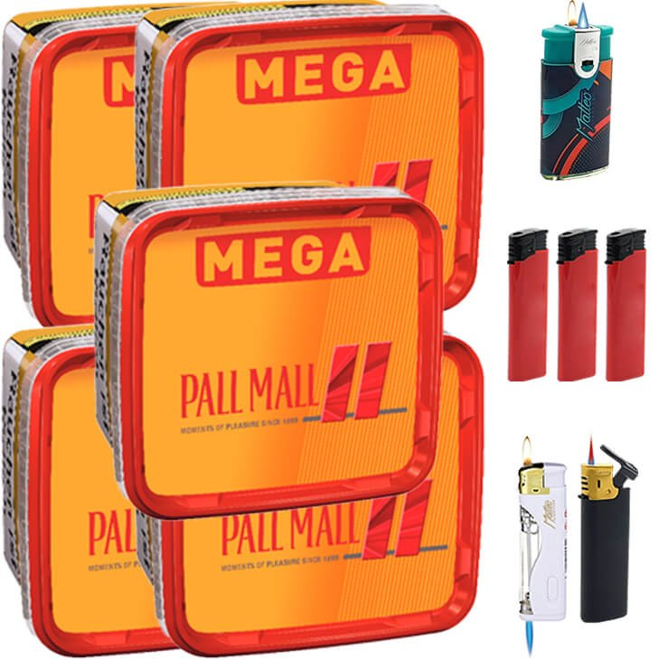 Pall Mall Allround 5 x 155g mit Feuerzeugen