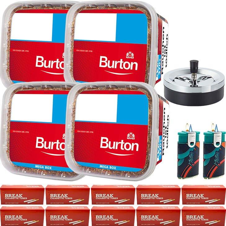Burton 4 x 350g 2000 mit 2000 Hülsen