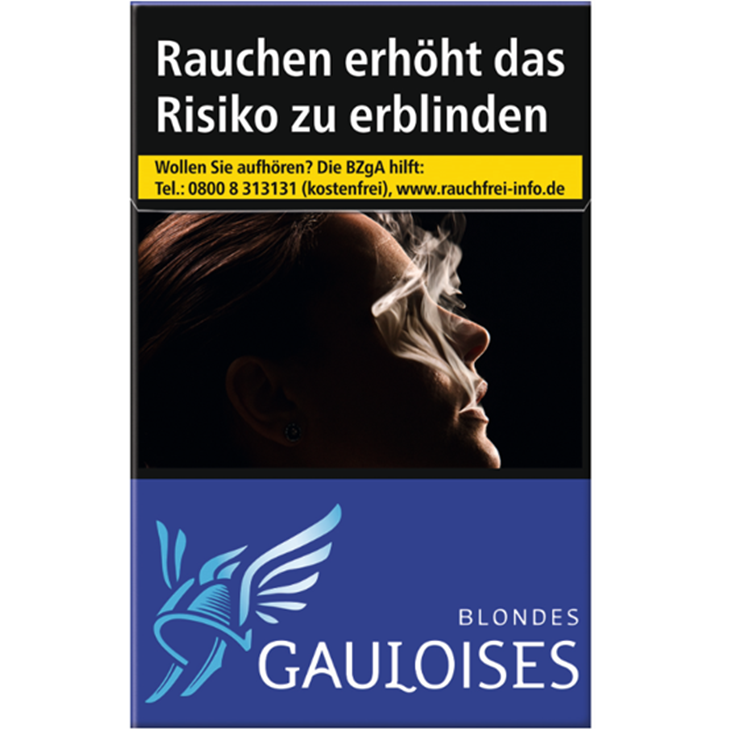 Gauloises Blondes Blau 7 €