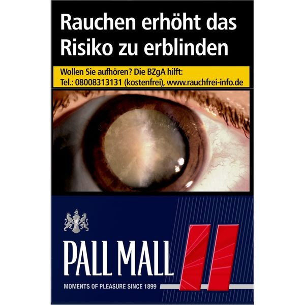 Pall Mall Red 6,60 €