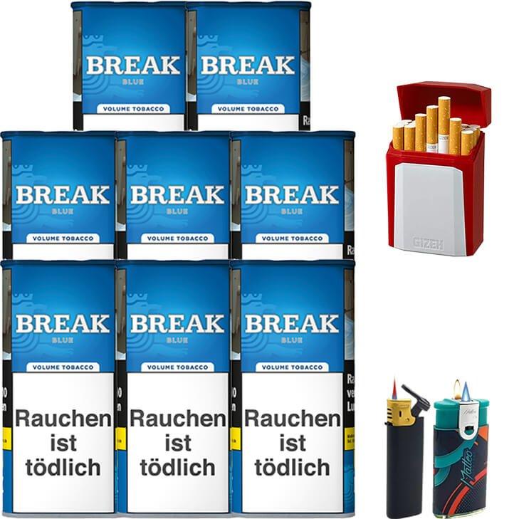 Break Blue / Blau 8 x 115g mit Etui