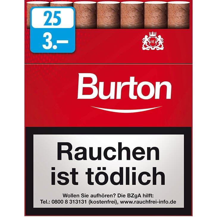 Burton Original Zigarillos 3,00 €