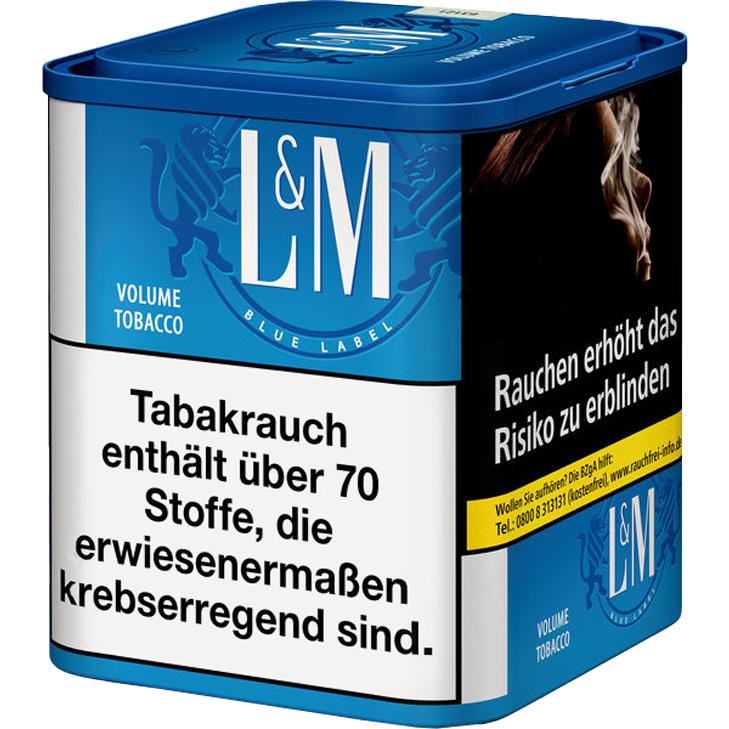 L&M Volume Tobacco Blue M 42g