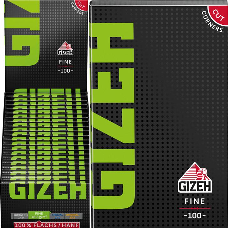 Gizeh Black Fine 20 x 100 Blatt
