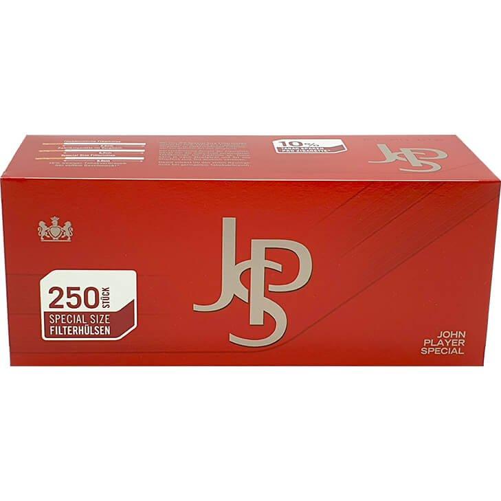 JPS John Player Blue 6 x 42g mit 500 Special Size Hülsen