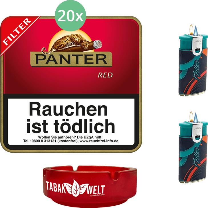 Panter Red Filter 20 x 20 Stück