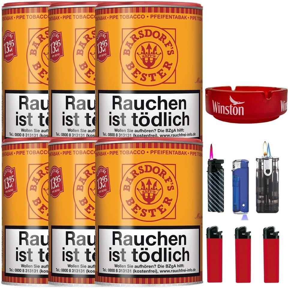 Barsdorf´s Bester Aromatic Mixture 6 x 160g Pfeifentabak Uvm.