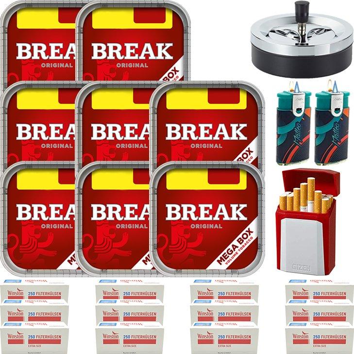Break Original 8 x 170g mit 3000 Special Size Hülsen