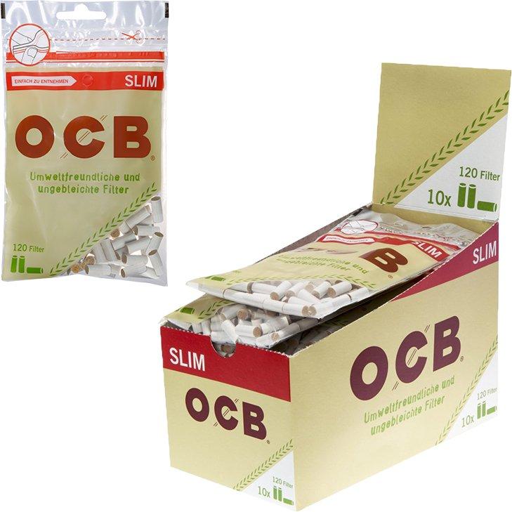 OCB Organic Slim Filter 6 mm 10 x 120 Stück