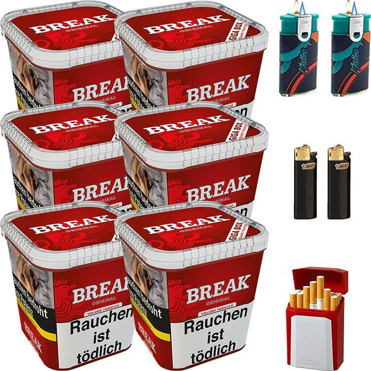 Break Original 6 x 230g mit Etui