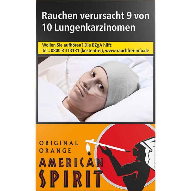 American Spirit Orange 7,20 €