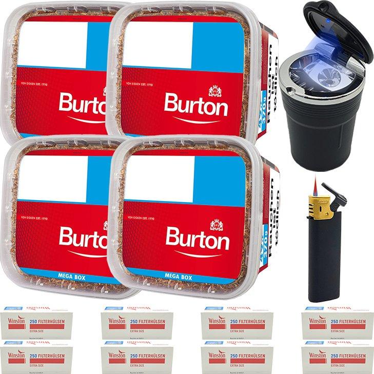 Burton 4 x 350g mit 2000 Special Size Hülsen
