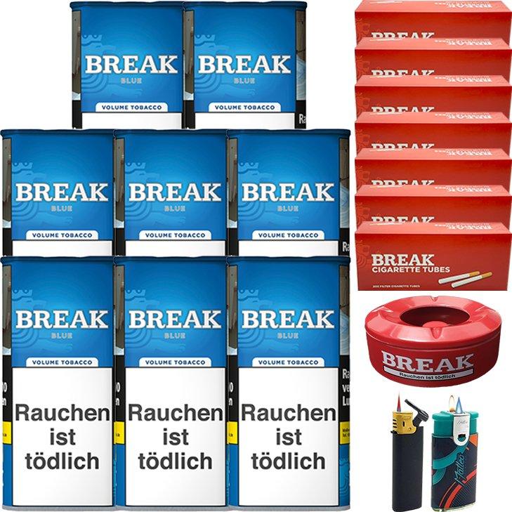 Break Blue / Blau 8 x 115g mit 1400 Hülsen