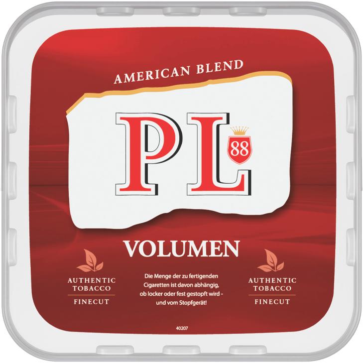 PL88 Red Volumentabak 365g