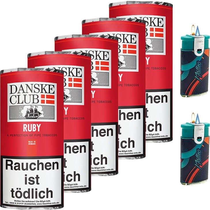 Danske Club Ruby 5 x 50g