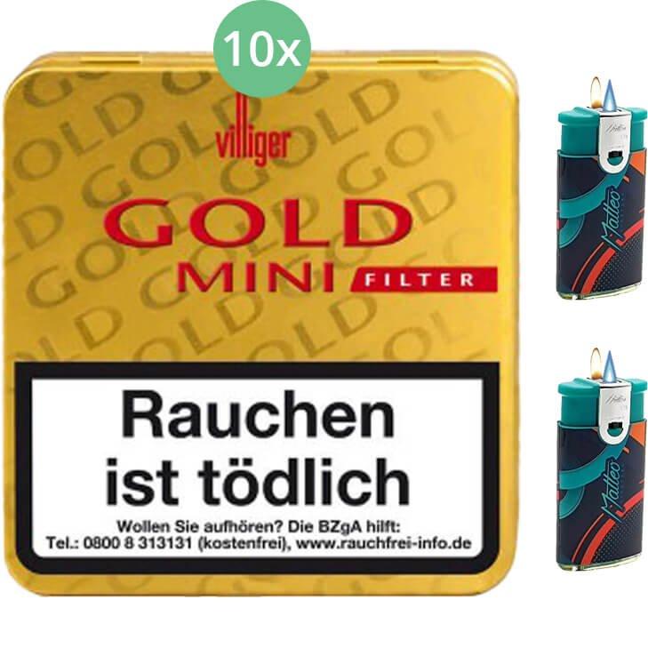 Villiger Gold Mini Filter 10 X 20 Stück