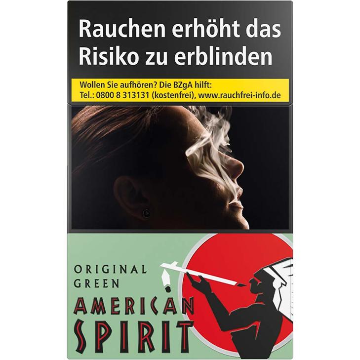American Spirit Green 7,20 €