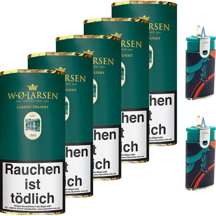 W.O. Larsen Classic Delight 5 x 50g