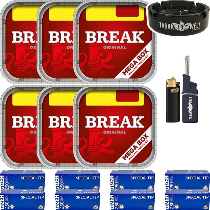 Break Original 6 x 170g mit 2000 Hülsen