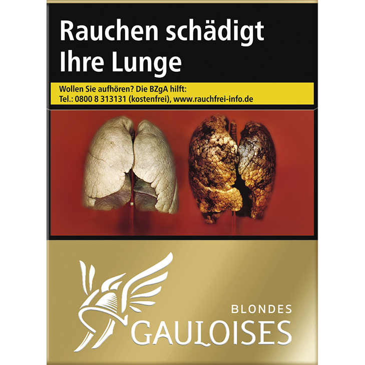 Gauloises Blondes Gold 8 €