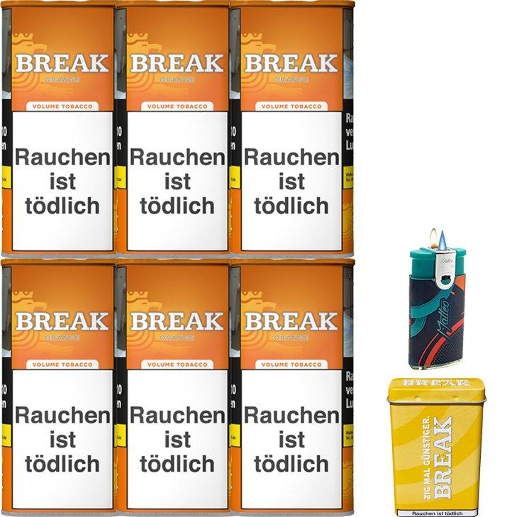Break Orange 6 x 110g mit Etui