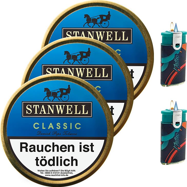 Stanwell Classic 3 x 50g