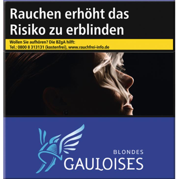 Gauloises Blondes Blau 15 €