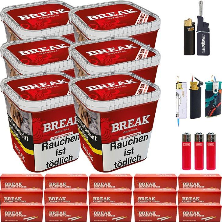 Break Original 6 x 230g mit 3000 Hülsen