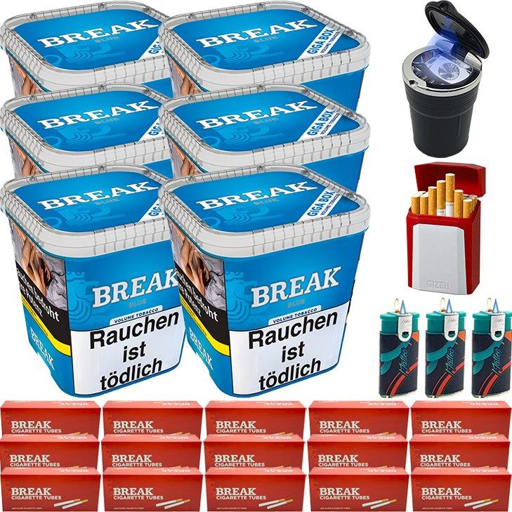Break Blue / Blau 6 x 230g mit 3000 Hülsen