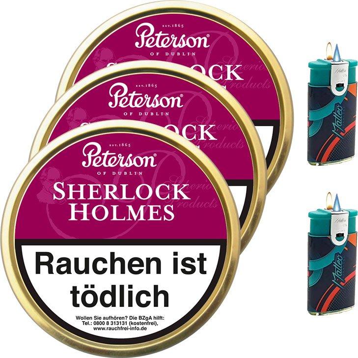 Peterson Sherlock Holmes 3 x 50g