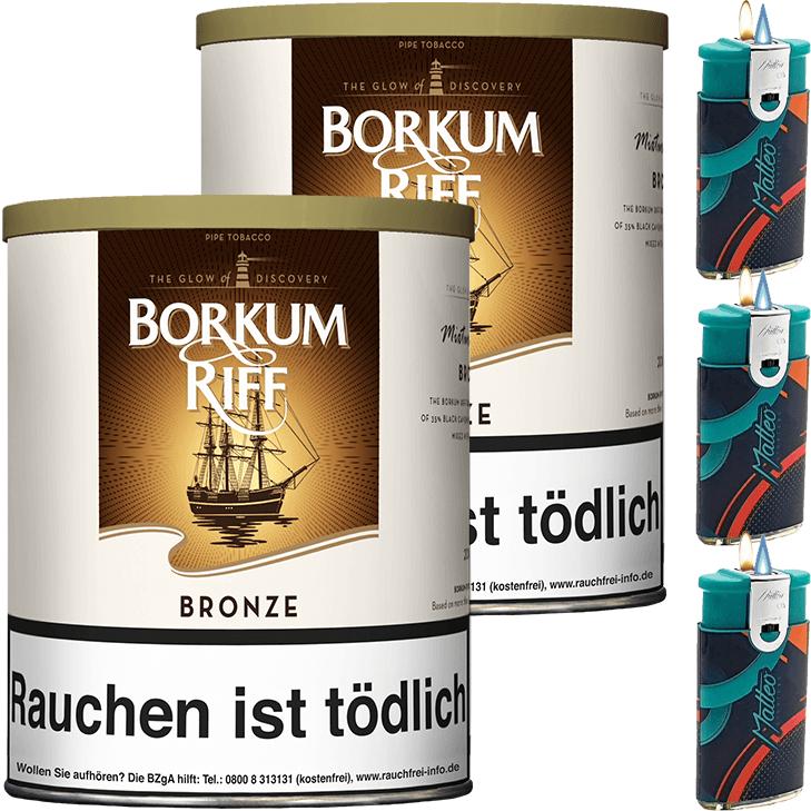 Borkum Riff Bronze 2 x 200g