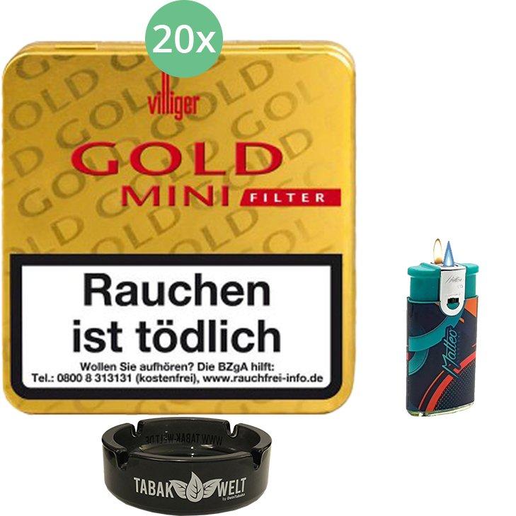 Villiger Gold Mini Filter 20 X 20 Stück