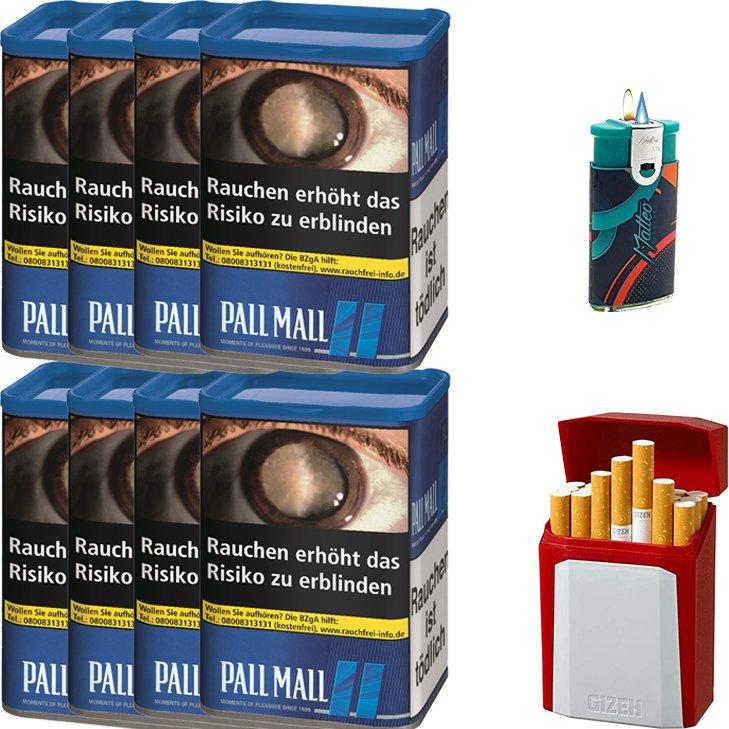 Pall Mall Blue 8 x 55g mit Etui