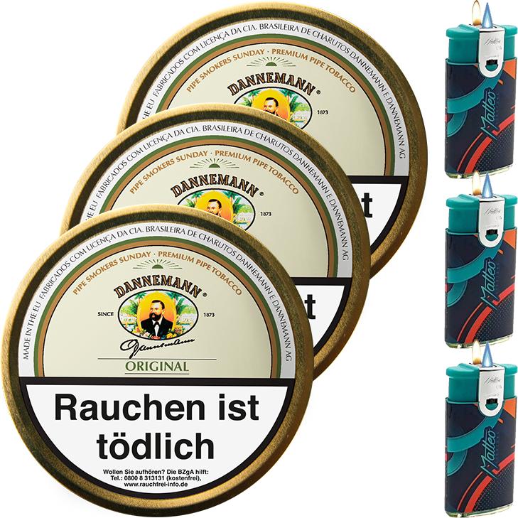 Dannemann Original 3 x 100g