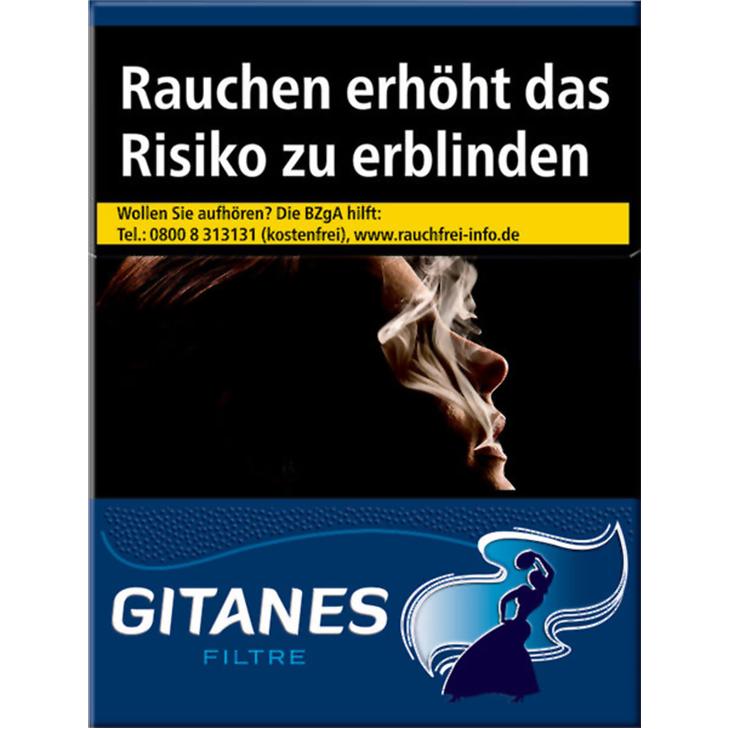 Gitanes mit Filter 7,40 €