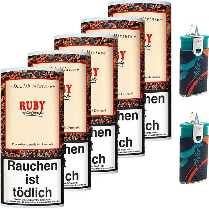 Danish Mixture Ruby 5 x 50g