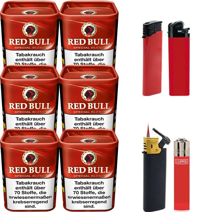 Red Bull Special Blend 6 x 120g Feuerzeugen