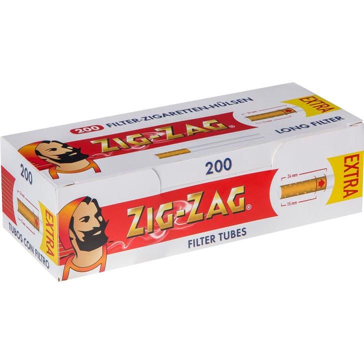 Zig Zag Extra Filterhülsen 200