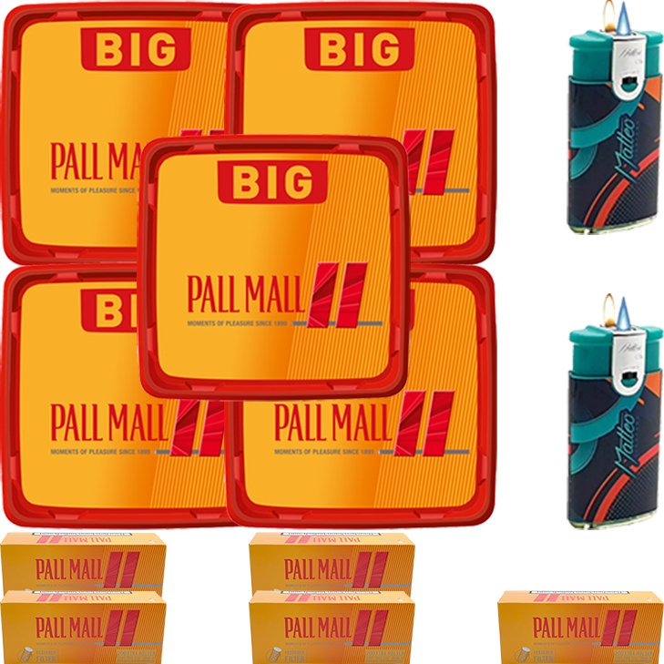 Pall Mall Allround Red 5 x 120g mit 1000 Hülsen
