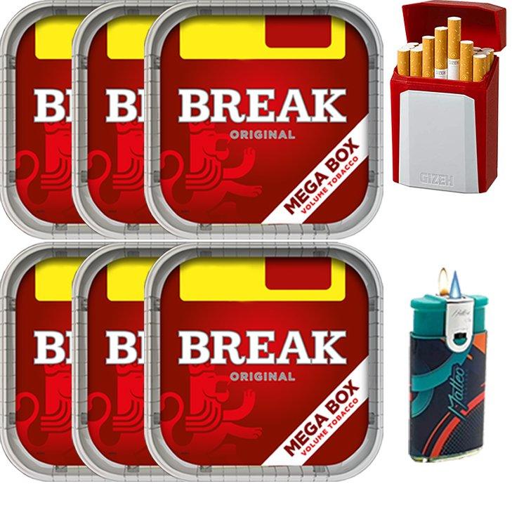 Break Original 6 x 170g mit Etui